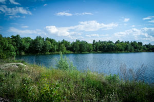 Голубое озеро Горенка